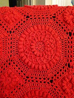 Ravelry: Project Gallery for Versailles Matelassé Afghan pattern by Priscilla Hewitt