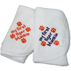 Perfect for a new Clemson Tiger!