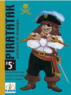 Aventureux ou prudent, à chacun sa stratégie pour construire son bateau avant que les pirates ne l'attaquent ! Contenu du jeu : 55 cartes. Nombre de joueurs : 2 à 4.Durée moyenne d'une partie : 15 minutes. Dimensions : 15.6 x 11.7 x 2.8 cm.A partir de 5 ans.