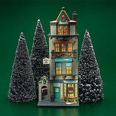 """Department 56: Products - """"The Doctor's Office"""" - View Lighted Buildings  Wish list"""
