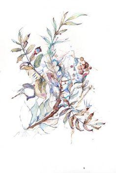 Carne Griffiths es un artista que utiliza materiales y técnicas altamente irregulares para crear sus obras. Este artista, originario de las afueras de Liverpool, Inglaterra, utiliza medios como té, tinta, brandy, grafito, vodka y whiskey para crear sus piezas. -CLTRA CLCTVA