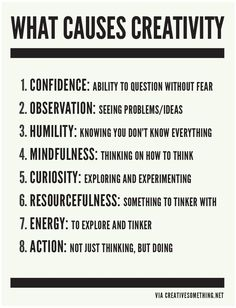 """What causes #creativity? Penina Rybak MA/CCC-SLP CEO Socially Speaking LLC Author: """"The NICE Reboot: How to Become a Better Female Entrepreneur-How to Balance Your Craving for Humanity & Technology in Today's Startup Culture"""" Amazon Link: http://amzn.to/1yBOufK"""