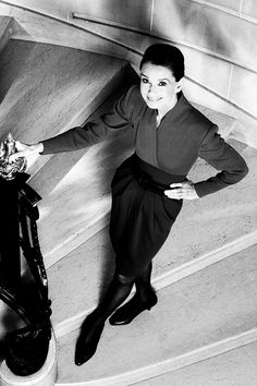 Audrey Hepburn by Timothy White, 1991