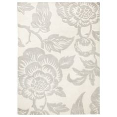 Threshold™ Wool Floral Area Rug - Shell - living room?