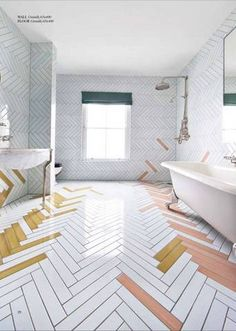 White bathroom tiles Rustic Floor Tile Ideas For Your Kitchen Or Bathroom Pinterest 104 Best White Bathroom Tile Images Bathroom Bathroom Modern