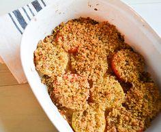 Crispy Parmesan Baked Tomatoes