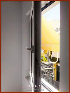 Τοποθέτηση ενεργειακών κουφωμάτων αλουμινίου Alousystem Ultra French Door Refrigerator, French Doors, Kitchen Appliances, Home, Diy Kitchen Appliances, House, Home Appliances, Homes, Houses
