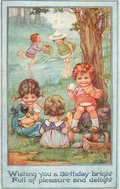A.L. Bowley Card