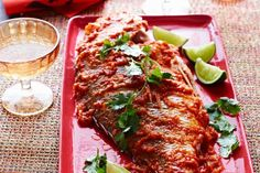 Perfectly fried whole fish with crisp skin and moist flesh is smothered with…