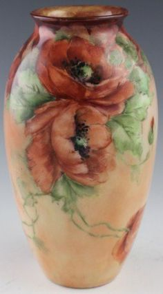 Ben Owen Pottery - Red Poppies