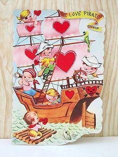 Image result for vintage valentines hippo