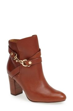 'Colleen' Leather Bootie - @nordstrom #nordstrom