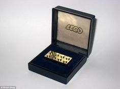 The world's most expensive Lego Brick