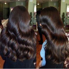 This hair looks so perfect. Beautiful Long Hair, Gorgeous Hair, Hair Inspo, Hair Inspiration, Curly Hair Styles, Natural Hair Styles, Brunette Hair, Hair Day, Balayage Hair