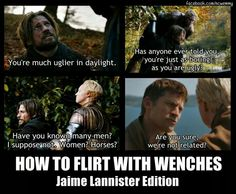Jaime Lannister: Kingslayer and smooth talker