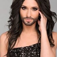 eurovision 2014 man dressed as woman with beard