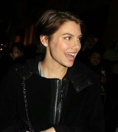 Lauren Cohen, Maggie Greene, She Movie, Walking Dead, American Actress, Her Style, Love Her, Short Hair Styles, Actresses
