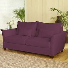 Do I dare to eat a peach? Or buy a cheap purple couch?