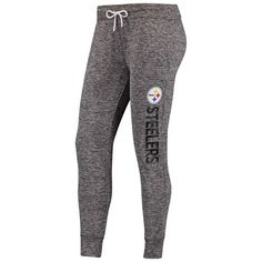 Pittsburgh Steelers G-III 4Her by Carl Banks Women s Sideline Jogger Pant -  Heathered Gray 8cfc131ff