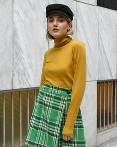 Ήξερες ότι το απόλυτο fashion trend του φετινού χειμώνα είναι το καρό; ❓ Καρό φούστα Compania Fantastica Prepping, Style, Fashion, Swag, Moda, Fashion Styles, Fashion Illustrations, Outfits, Prep Life