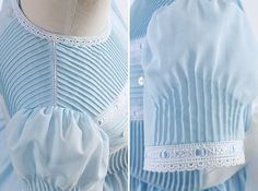 Detailed Look At Swiss Voile Pintucks Dress by Gail Doane - Classic Sewing Magazine Girl Dress Patterns, Coat Patterns, Skirt Patterns, Blouse Patterns, Sewing Patterns, Vintage Girls Dresses, Little Girl Dresses, Beginner Knitting Patterns, Sewing Magazines