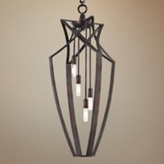 Savoy House Windsung Bronze 4-Light Foyer Pendant$438
