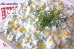 Yoğurtlu Salatalık Mezesi