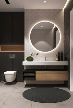 48 Easy Shower Design Ideas For Small Bathroom - Decor White Bathroom Tiles, Small Bathroom, Bathroom Ideas, Brown Bathroom, Mirror Bathroom, Bathroom Cabinets, Modern Bathroom Design, Bathroom Interior Design, Bath Design
