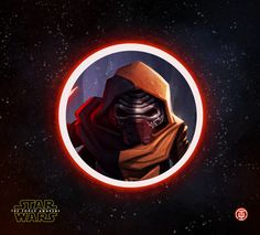 SPOILER ALERT:A long time ago, in a galaxy far far away, this creepy dude Kylo Ren has internal battles between the dark and the light side, not knowing who he is yet and trying to decide between his family and the legacy of Darth Vader. Creepy Dude, Star Wars Kylo Ren, Star Wars Fan Art, The Darkest, Darth Vader, Behance, Illustrations, Stars, Movie Posters