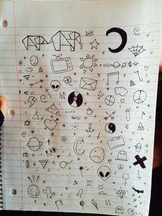 Image via We Heart It #boring #drawing