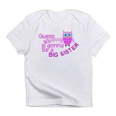 Big Sister Announcement Infant T-Shirt