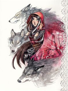 Cerise Hood by Kutty-Sark.deviantart.com on @DeviantArt