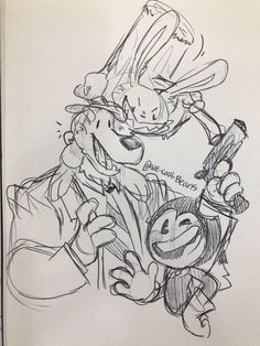 we-cool-beans - Posts tagged sam and max Cute Art, Jazz, Police, Cool Stuff, Drawings, Image, Beautiful, Jazz Music, Sketches