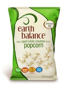 Earth Balance - Vegan Aged White Cheddar Popcorn