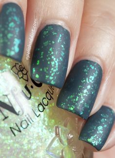 Nfu Oh 39 over Butter London Stag Do (matte version)