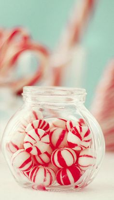 Christmas Candy...wouldn't be Christmas without these puffs of peppermint!!