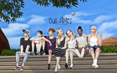 Sims 4 Updates: Flower Chamber - Poses : GP OUR TIMES 7 poses, Custom Content…