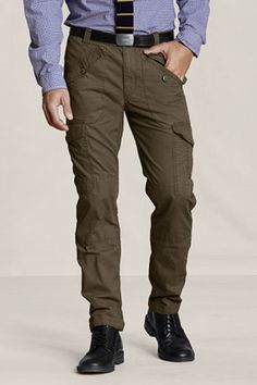 Have fun at the office this fall. I just got these Slim Cargo Pants from GAP. Ready for the wilderness at the office.