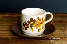 Johnson of Australia 'Brazilia' teacup/saucer by ThatRetroPiece, $5.00