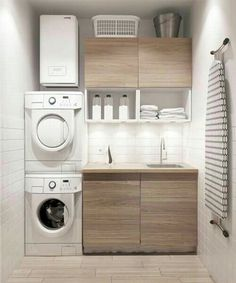 Compact.. don't like anything except the layout for a tiny laundry