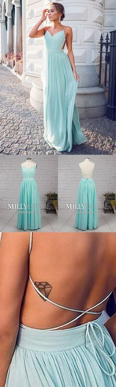 Long Prom Dresses For Teenagers,Blue Formal Evening Dresses Modest,Unique Pageant Party Dresses A-line,Sexy Military Ball Dresses V-neck,Chiffon Sweet 16 Dresses with Open Backs - - Modest Formal Dresses, Vintage Formal Dresses, Prom Girl Dresses, Affordable Prom Dresses, Formal Dresses For Teens, Backless Prom Dresses, Cheap Prom Dresses, Formal Evening Dresses, Evening Gowns