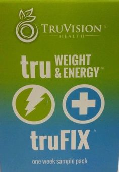 Trufix and Truweight&Energy Weight Loss Supplement 1 Week Supply by Truvision #TruVisionHealthTruFixTruWeightEnergy