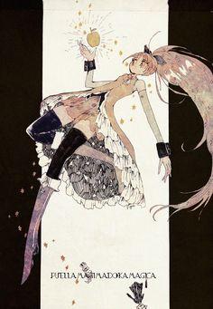 Puella Magi Madoka Magica - Kyōko Sakura - by FiguFigu on DeviantArt