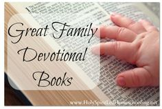 Great Family Devotional Books {BFF}