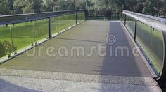 Video about Bridge with green glass and balustrade. Video of travel, parapet, construction - 60051592