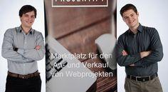 Projektify Marktplatz, um Webprojekt wie Blogs, Foren, Webseiten, Startups und Onlineshops zu verkaufen