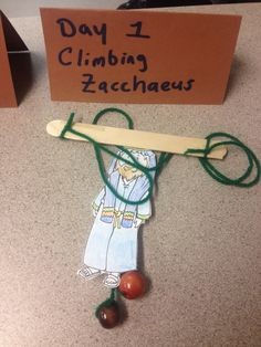 Climbing Zaccheus