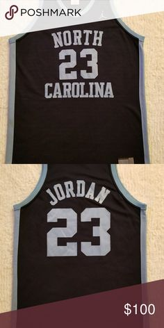 Michael Jordan North Carolina Tar Heels Jersey Licensed Collegiate Legends  Throwback Jersey Tar heels Team CHAMP of Famer of the Year Owner Star Dunk  Winner ... 71da6a9ec