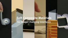 PneUI: Pneumatically Driven Soft Composite Material for Shape-Changing User Interfaces