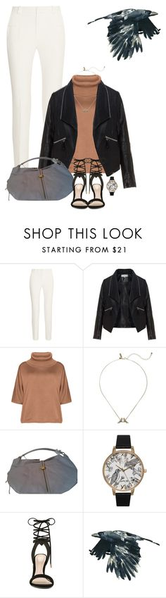 """""""Autumn Raven"""" by maggiecakes ❤ liked on Polyvore featuring Roland Mouret, Zizzi, Isolde Roth, Kate Spade, Rebecca Minkoff, Olivia Burton and ALDO"""
